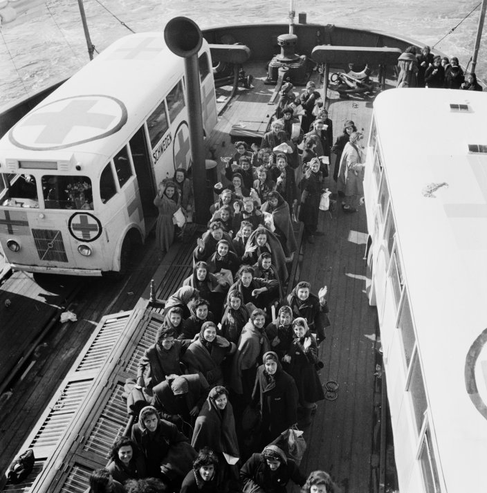 The Swedish Red Cross White Bus Rescue Action